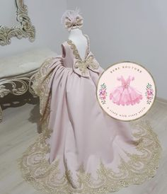 Baby Girl Dresses, Girl Outfits, Flower Girl Dresses, Kid Dresses, Flower Girls, Amelia Dress, Party Lights, Dress With Bow, Beautiful Dresses