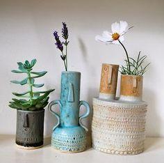 Atelier Stella ceramic pots.