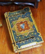Antique book case.