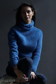 AQUA Aqualac Sweater от NihanAltuntas на Etsy