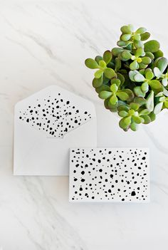 #DIY your own Dalmatian-inspired stationary!