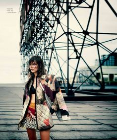 visual optimism; fashion editorials, shows, campaigns & more!: new york state of mind: alison nix by riccardo vimercati for harper's bazaar mexico october 2014
