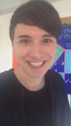 Sometimes we talk about how damn hot Dan is or how great of a YouTuber he is but sometimes i think we just to look at him as a person and see how far he's gone and how his smile has gotten so much bigger as the years go by<<bc Phil