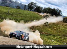 WRC 2015, Rallye Australien, Coffs Harbour, Jari-Matti Latvala, Volkswagen Motorsport, Bild: Sutton