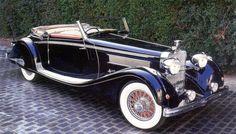 1935 Hispano-Suiza K6 Brandone Cabriolet - (La Hispano-Suiza Fábrica de Automóviles, Barcelona, Spain 1904-1936)