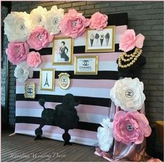 Wedding Themes Ideas Paris New IdeasYou can find Paris party and more on our website.Wedding Themes Ideas Paris New Ideas Chanel Birthday Party, Paris Themed Birthday Party, Chanel Party, Barbie Birthday, Barbie Party, Birthday Party Themes, 40th Birthday, Paris Themed Parties, Chanel Bridal Shower