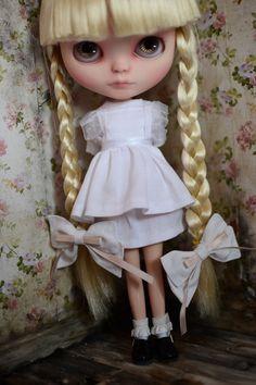 OOAK Custom Blythe Doll Rhoda Anger By Ophelia by OpheliaDress