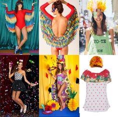 Vem ver nossa seleção de peças especiais pro Carnaval: tem look de arara, marinheira e muito mais!...