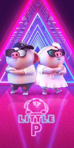 Pig Wallpaper, Disney Wallpaper, This Little Piggy, Little Pigs, Happy Birthday Pig, Cartoon Character Tattoos, Cute Piglets, Cactus Drawing, Pig Illustration