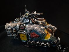 Primaris Repulsor Space Wolves Modded Warhammer 40K
