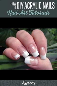 Learn how to do DIY acrylic nails at home! Check out our step by step tutorial for DIY Acrylic Nails and skip the salon. Save time and money!