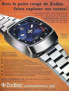 1974 #zodiac astrographic sst watch advert publicite #suisse swiss #magazine ad , View more on the LINK: http://www.zeppy.io/product/gb/2/391489891212/