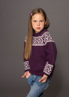 Knitting For Kids, Color Combinations, Knitting Patterns, Turtle Neck, Embroidery, Children, Sweaters, Fair Isles, Ideas