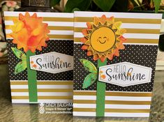Box Of Sunshine, Stampin Up Paper Pumpkin, Pumpkin Cards, Pineapple Images, Cute Fruit, Stampin Up Cards, 3d Cards, Card Tutorials, Cards For Friends