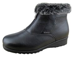 Comfy Moda Womens Winter Snow Boots London 8 Black ** You can find more details by visiting the image link. (This is an affiliate link)