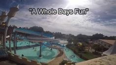 """A Whole Days Fun""- Splash Planet Theme Park, Hastings, New Zealand"