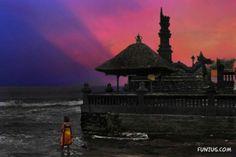 Sea temple in bali