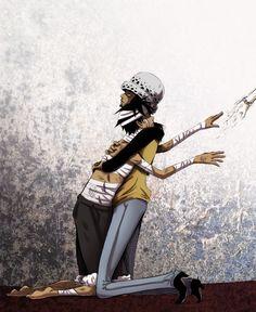 Trafalgar Law x Monkey D. Luffy #one piece #lawlu