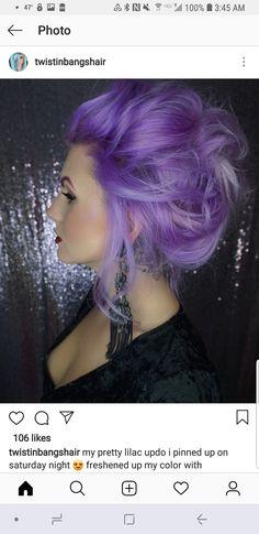 Purple Ombre, Chokers, Hair, Jewelry, Fashion, Moda, Jewlery, Jewerly, Fashion Styles