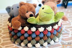 Bobble Toy Basket - Free Bobble Storage Basket Crochet Pattern