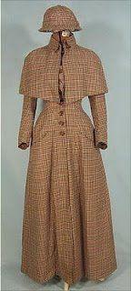 Ladies wool coat 1888