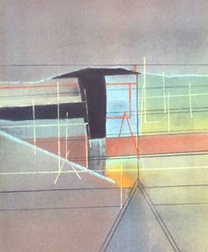 Northern Roofs Pastel Painting by David Blackburn A Level Art, Landscape Art, Tuscany, New Art, Art Gallery, Abstract, David, Artwork, Projects