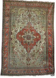 Persian Mohtashem Keshan rug