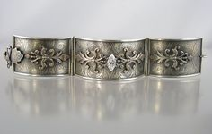 Etched Victorian Bracelet  Nancy L.T. Hamilton  https://www.facebook.com/nancylthamiltonjewelry/photos_stream