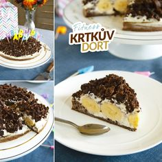 Fitness krtkův dort - zdravý recept Bajola Healthy Style, Cooking Recipes, Healthy Recipes, Tiramisu, Food And Drink, Health Fitness, Baking, Ethnic Recipes, Sweet