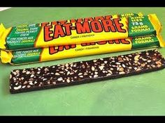 Reviewing the Eat-More chocolate bar!