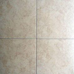 Sonora Taupe 17-3/4 in. x 17-3/4 in. Ceramic Floor Tile (17.5 sq. ft. / case)-18SONOTAUP - The Home Depot