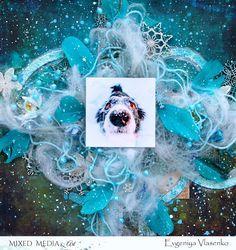 "Mixed Media & Art: LO ""Funny Winter"" by Evgeniya Vlasenko"