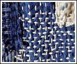 Sashiko is a traditional form of Japanese hand sewing that uses a simple running stitch sewn in repeating or interlocking patterns, usually through several layers of fabric.
