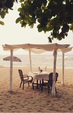 Romantic Dinner on the Beach, by Gran Ventana Resort in Playa Dorada, Dominican Republic
