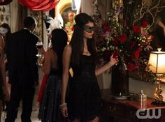 """""""Masquerade"""" - Nina Dobrev as Elena / Katherine in THE VAMPIRE DIARIES on The CW.  Photo: Quantrell D. Colbert/The CW  ©2010 The CW Network, LLC. All Rights Reserved."""