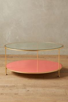 Anthropologie Lacquered Coffee Table #AnthroFave