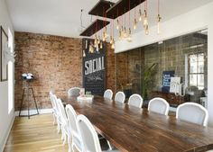 We Are Social | New York City Offices | Sourcing and designing custom lighting, a photo studio, phone booths, and a new kitchen, the office is now a cool, functional reflection of the awesome brand that is We Are Social.