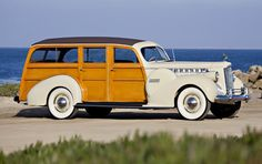 Gooding & Co. - 1940 Packard One Sixty Super 8 Station Wagon