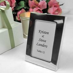 Photo Frame Place Card Holders by Beau-coup ($1.59 EACH)