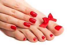 Pedicure Cairns - Refresh City Day Spa Treat your manicure pedicure - Nails Red Manicure, Manicure E Pedicure, Opi Nails, Mani Pedi, Opi Nail Polish Colors, Nail Polishes, Pedicure Nail Designs, Gel Nail Tips, Luxury Nails