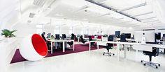 Helsingin ydinkeskustasta löytyy digitaalisia suunnittelupalveluja tarjoava Fjordin avotoimisto #toimisto #design