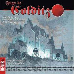 La fuga de Colditz, juego de mesa de estrategia @ Juegos de Mesa y de Tablero Blog http://juegosdemesaydetablero.blogspot.com/2011/07/la-fuga-de-colditz-juego-de-mesa-de.html