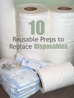Every now and then I come across an article or forum suggesting that preppers stock up on paper products. I personally know people who have rooms stacked full of toilet paper, paper towels, sanitary pads, and paper plates. While it's a good idea to have maybe a couple of weeks' worth of disposable products, filling …