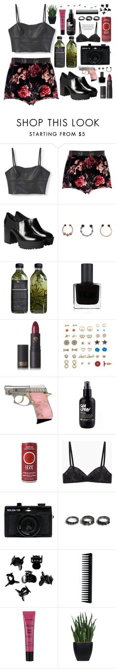 """Nothing's Gonna Hurt You Baby // Cigarettes After Sex"" by h3li ❤ liked on Polyvore featuring MANGO, River Island, Monki, New Look, AMBRE, RGB Cosmetics, Lipstick Queen, Mudd, Araks and Holga"