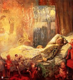 John Anster Fitzgerald The Stuff That Dreams Are Made Of