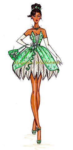 The Disney Divas collection by Hayden Williams: Tiana