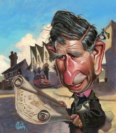 Charles, Prince of Wales - CARICATURE: http://dunway.com/
