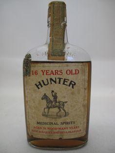 Hunter (probably Hunter Rye) - Prohibition
