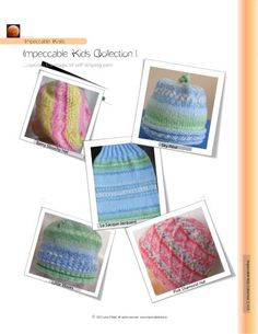Impeccable Knits pattern - Impeccable Kids Collection 1 - a new eBook collection in self-striping yarn