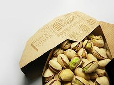 Kreative Pistazien-Verpackung von Maija Rozenfelde | KlonBlog
